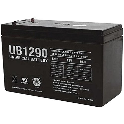 Universal Power Group UPG UB1290 9Ah Sealed Lead-Acid AGM 12 Volt Battery: Health & Personal Care