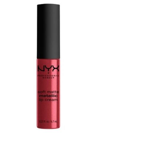 NYX Professional Makeup Soft Matte Metallic Lip Cream