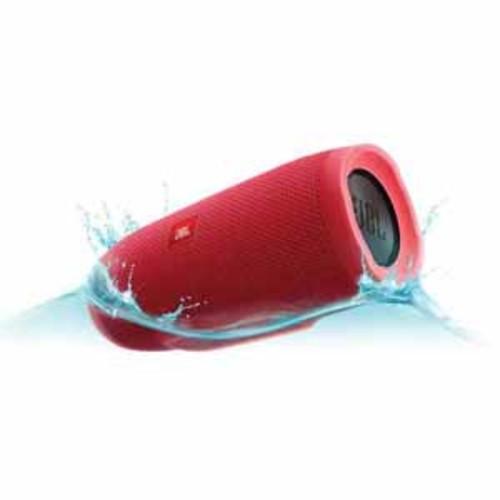 JBL Charge 3 Waterproof Portable Bluetooth Speaker - Red