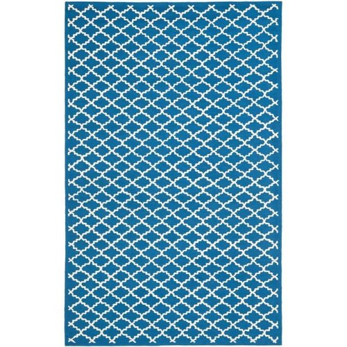 Safavieh Newport Indigo/Ivory 7 ft. 9 in. x 9 ft. 9 in. Area Rug