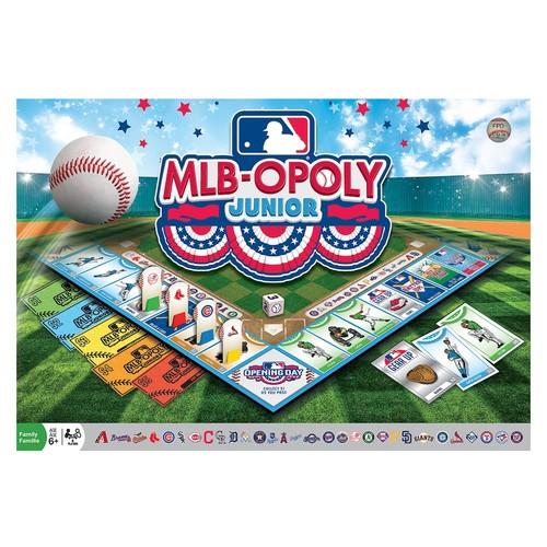 MLB-Opoly Junior Board Game