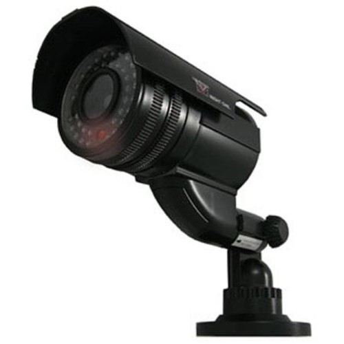 Night Owl Dummy Decoy Bullet Camera with Flashing Red LED Light DUM-BULLET-B