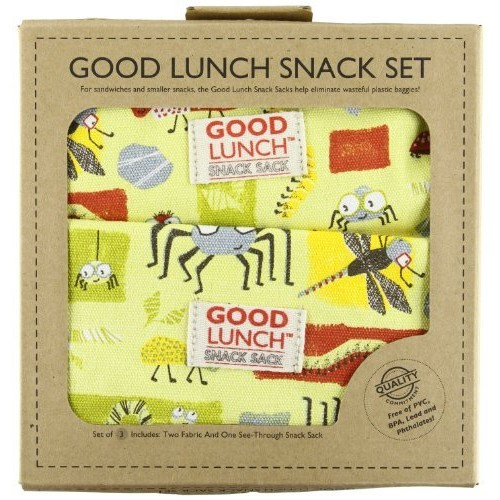 Sugarbooger Good Lunch Snack Set, Icky Bugs [Icky Bugs]