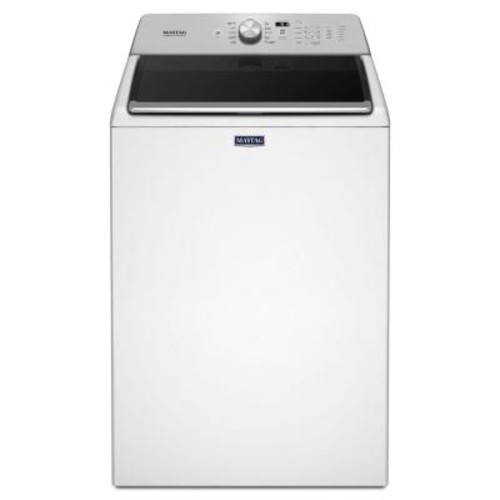 Maytag 4.7 cu. ft. High-Efficiency White Top Load Washing Machine with PowerWash Cycle