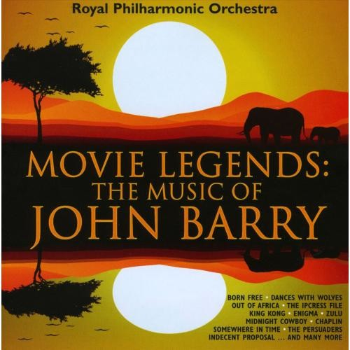 Movie Legends: Music Of John Barry-CD