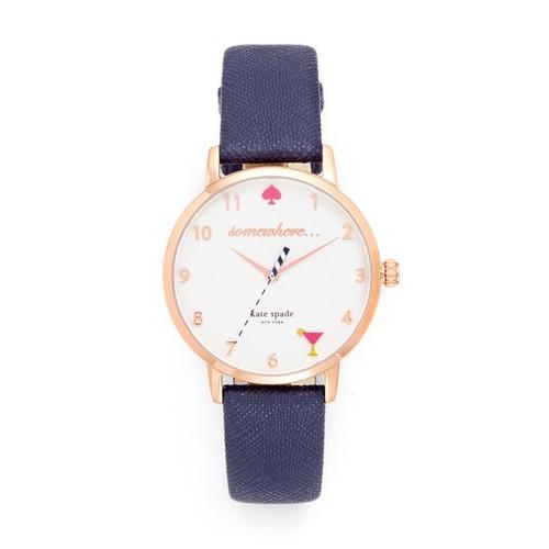 KATE SPADE NEW YORK Metro Novelty 5 O'Clock Watch