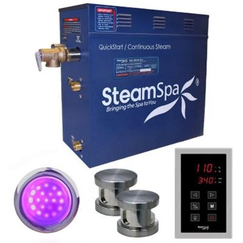 Steam Spa Indulgence 12 kW QuickStart Steam Bath Generator Package; Oil Rubbed Bronze