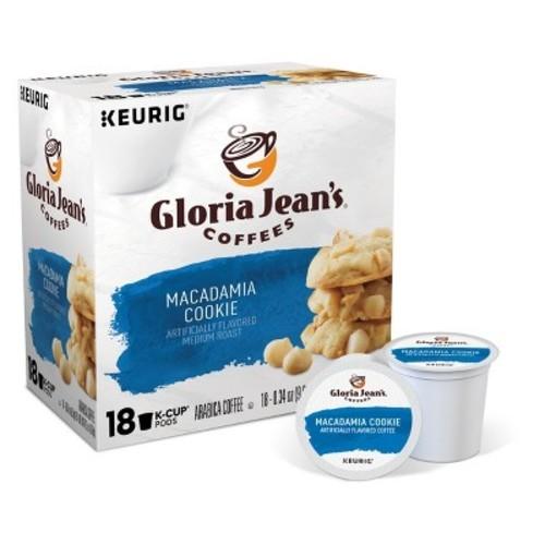 Keurig Gloria Jean Macadamia K-Cup pods 18ct