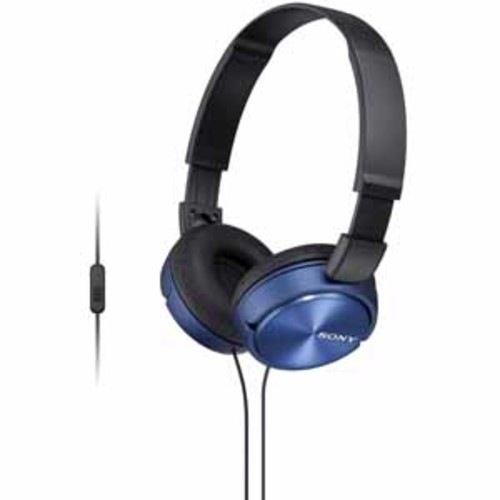 Sony ZX Series Headband Stereo Headset - Blue