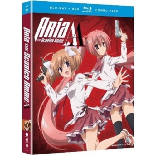 Aria The Scarlet Ammo Aa:Complete Ser (Blu-ray)