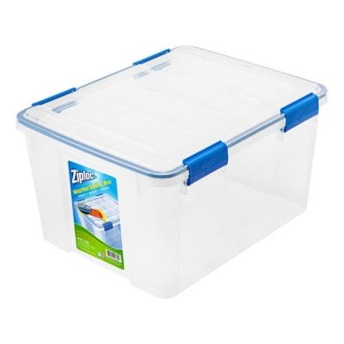 Ziploc 44 Qt WeatherShield Clear Storage Box