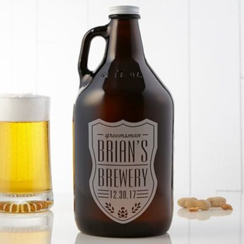 Beer Label 64 oz. Growler