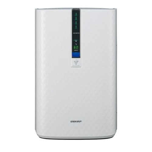 Sharp KC850U Plasmacluster Room Air Purifier and Humidifier - White