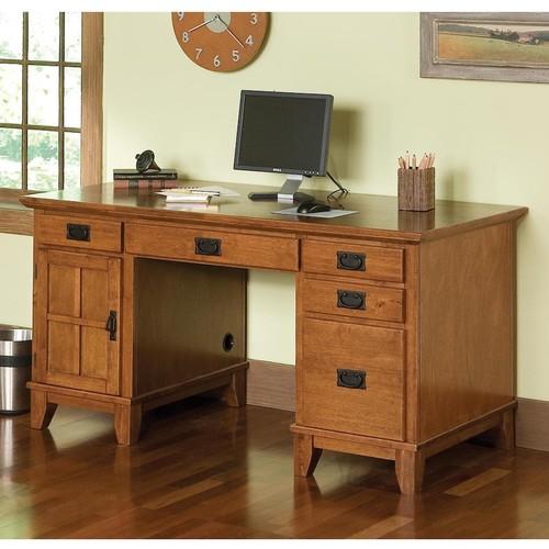 Home Styles Arts & Crafts Computer Desk [Cottage Oak]