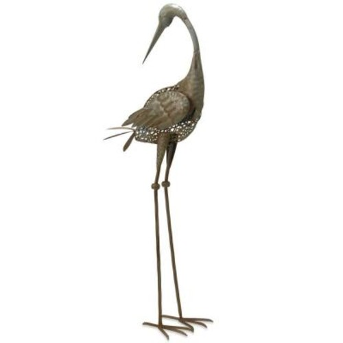 National Tree Company 35 in. Garden Accents Crane Decoration