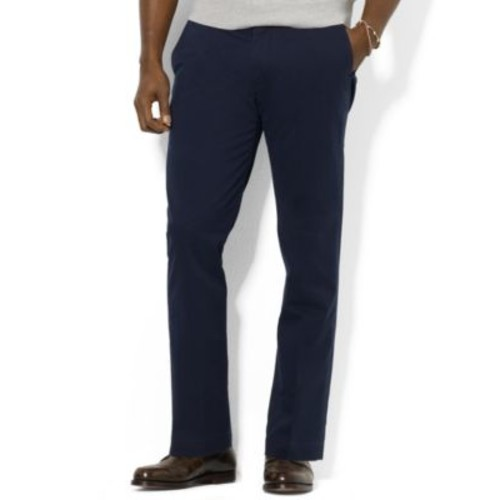 Polo Ralph Lauren Big and Tall Pants, Classic-Fit Stretch-Twill Pants