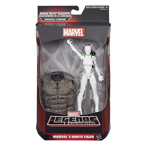 Marvel Legends Infinite Series 6 inch Action Figure - Marvel's White Tiger