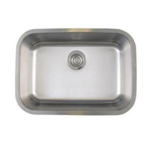 Blanco Stellar Undermount Stainless Steel 25 in. Medium Single Bowl Kitchen Sink