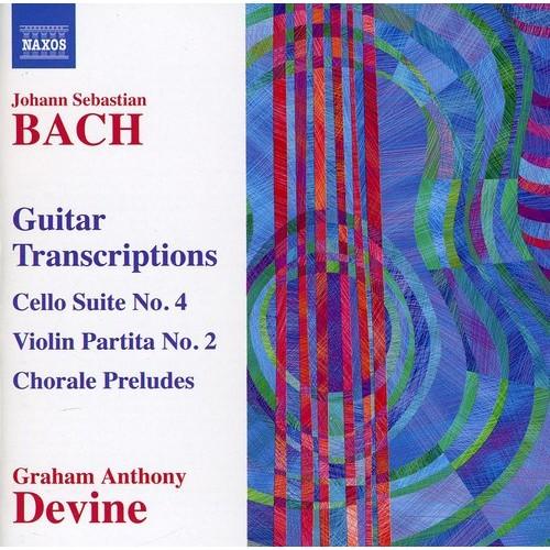 Bach: Guitar Transcriptions [CD]