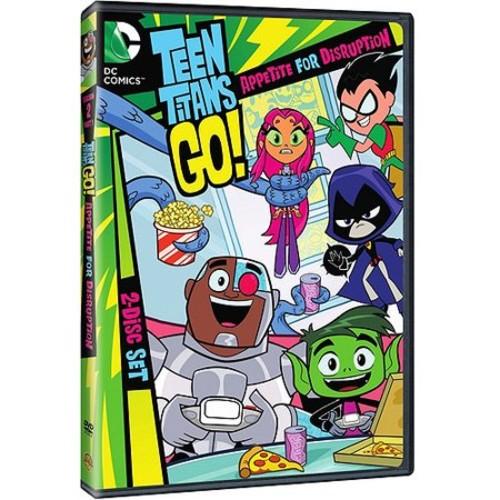 Teen Titans Go!: Appetite for Disruption Season Two Part One (DVD) [Teen Titans Go!: Appetite for Disruption Season Two Part One DVD]