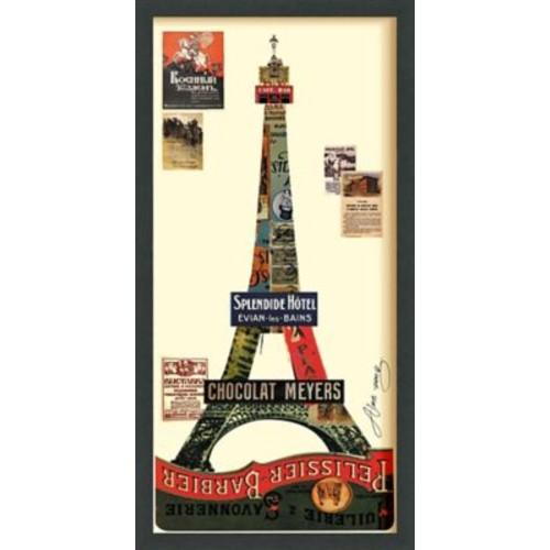 itude Run 'Eiffel Tower' Framed Graphic Art Print