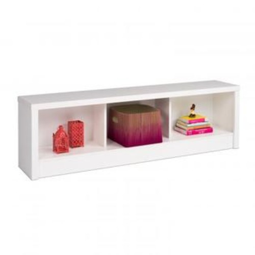 Prepac Calla Storage Bench, White