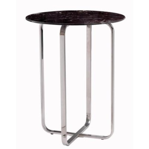 Kenroy Home Adante Stainless Steel End Table