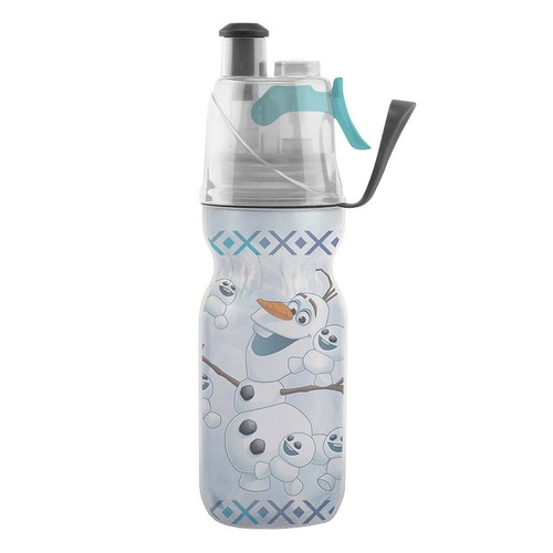O2COOL ArcticSqueeze Mist 'N Sip Disney's Frozen Olaf 12-oz. Insulated Squeeze Water Bottle