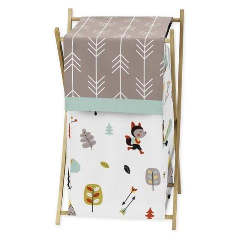 Sweet Jojo Designs Outdoor Adventure Collection Laundry Hamper