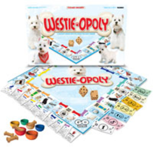 WESTIEOPOLY Board Game