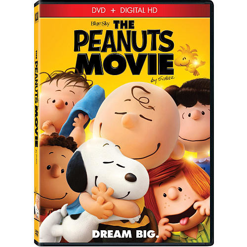 The Peanuts Movie DVD (DVD/Digital HD)