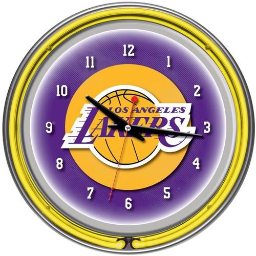 Trademark Games Los Angeles Lakers 14'' Neon Clock