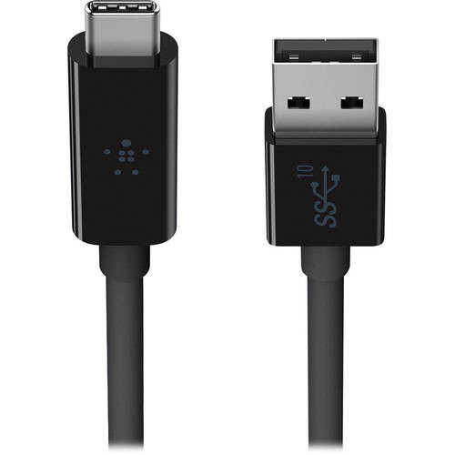 SuperSpeed+ USB 3.1 Type-A to Type-C Cable (3', Black)
