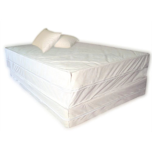 Polypropelene 3 Piece Complete Bed Protector Set - Size: Twin