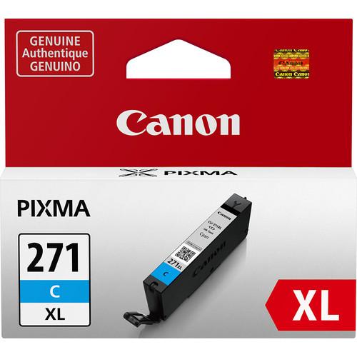 Canon - CLI-271XL Ink Cartridge - Cyan