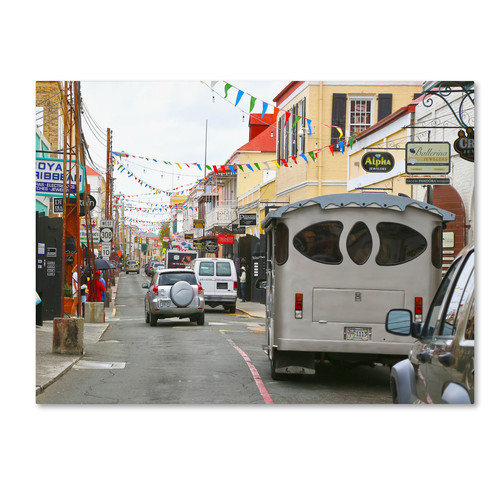 Trademark Global CATeyes 'Virgin Islands 7' Canvas Art [Overall Dimensions : 14x19]