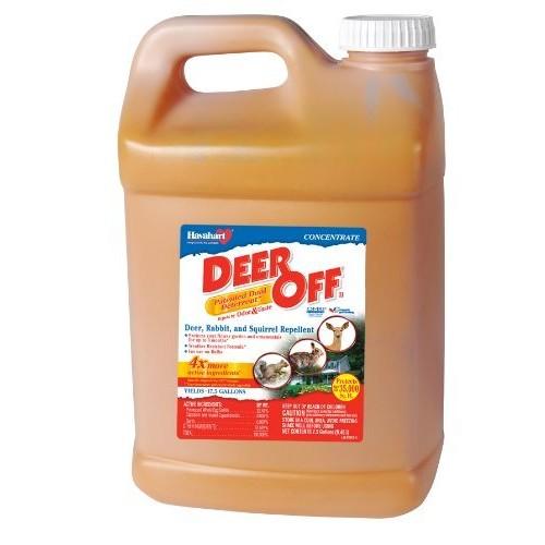 Deer Off Deer, Rabbit and Squirrel Repellent Concentrate, 2.5 gallon [2.5 Gallon]
