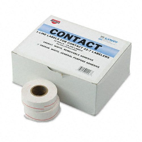 Garvey COS090948 One-Line Pricemarker Labels