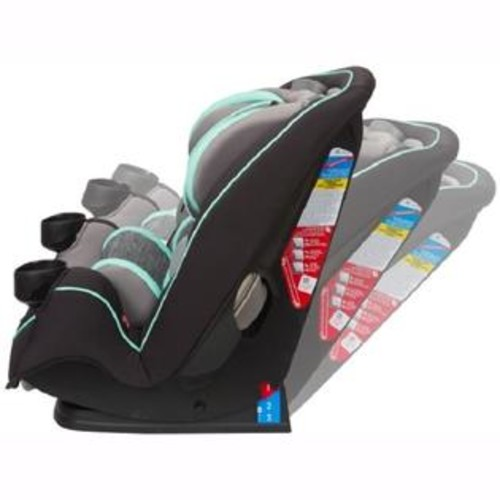Safety 1st Safety 1 Grow and Go 3-in-1 Convertible Car Seat, Aqua Pop