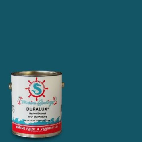 Duralux Marine Paint 1 gal. Biloxi Blue Marine Enamel