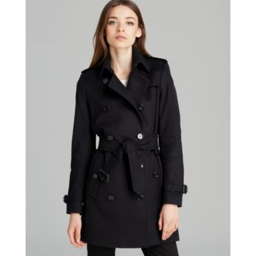 BURBERRY London Coat - Kensington Wool Mc