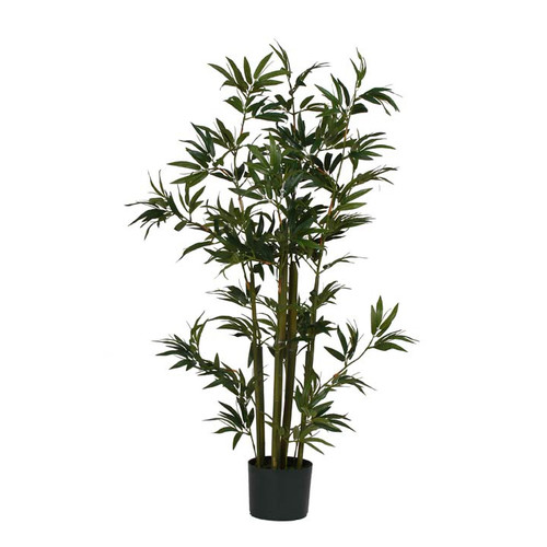 Nearly Natural Artificial Plants Bamboo Silk Plant (48 in. Tall)