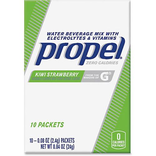 Propel Quaker Foods Kiwi/Berry Beverage Mix Packs - Powder - Kiwi Strawberry Flavor - 0.08 oz - 120 / Carton