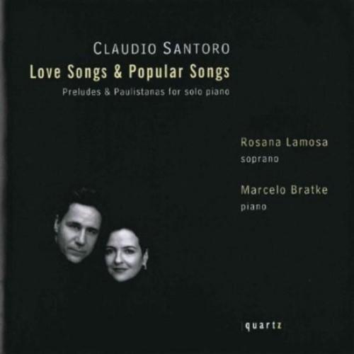 Santoro: Love Songs & Popular Songs [CD]