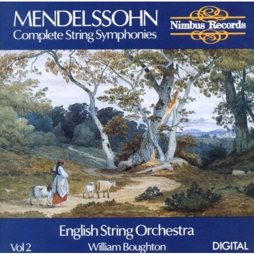 Mendelssohn: Complete String Symphonies Vol. 2