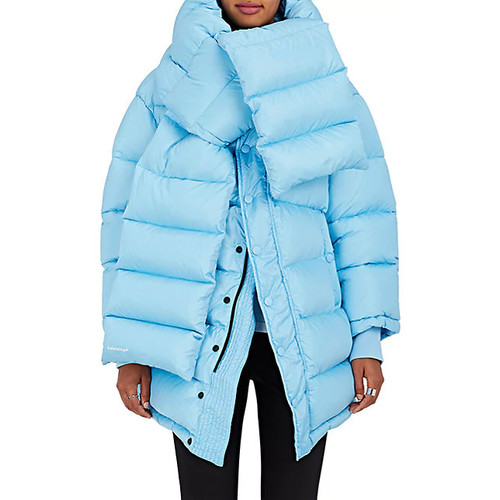 Balenciaga Down-Quilted Oversized Puffer Coat
