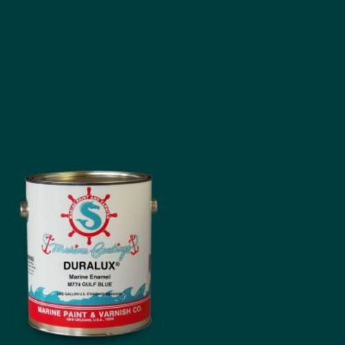 Duralux Marine Paint 1 gal. Gulf Blue Marine Enamel