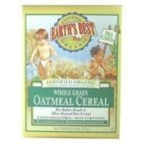 Earth's Best Organic Whole Grain Oatmeal Infant Cereal - Case Of 12 - 8 Oz. 8 OZ [8 oz]