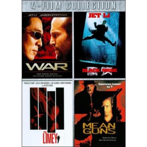 Four-Film Collection: (War / Black Mask / Limey / Mean Guns)
