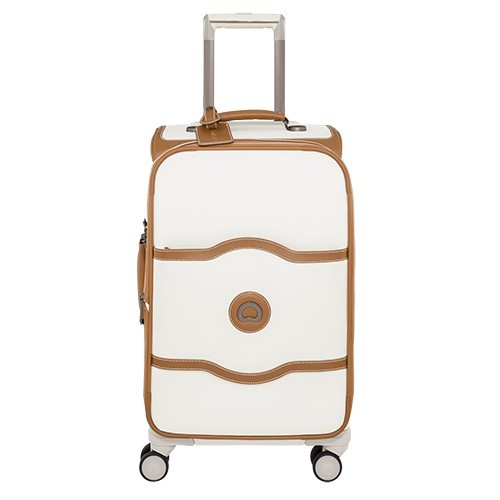 Delsey Chatelet Soft Carry-On Expandable Spinner Trolley
